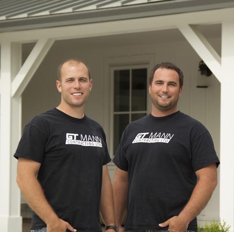 Graeme and Trevor Mann - Victoria Contracting Company